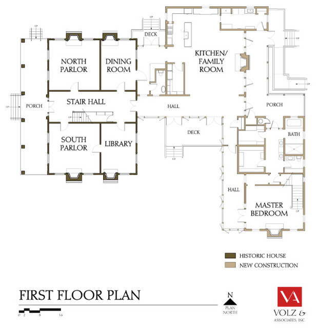 Floor Plan Houzz Tour: Historic Restoration Brings Home Back Into the Family