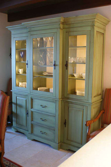 China cabinet mediterranean-china-cabinets-and-hutches