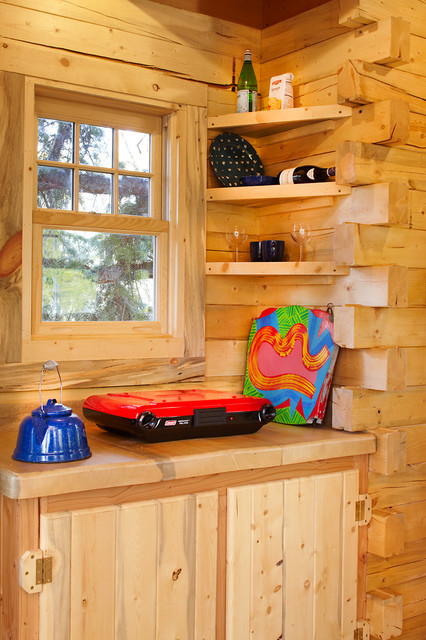 A Treehouse Fit for Kid Sleepovers and Adult Dinner Parties rustic