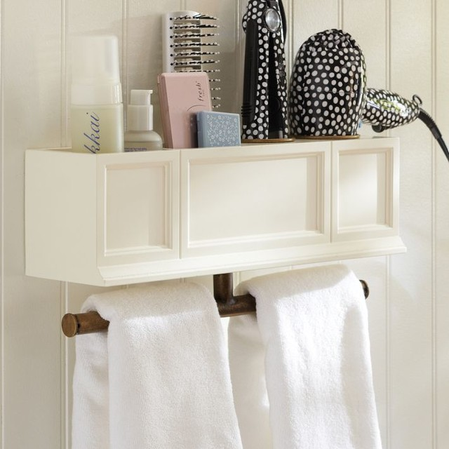 Hannah beauty hair accessories organizer shelf bathroom