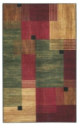 "Accent Rug: Alliance Multi 2' 6"" x 3' 10"" contemporary-rugs"