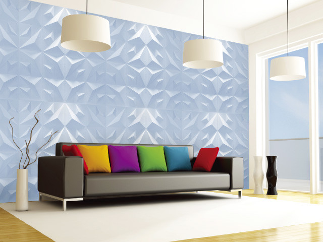 3d Wall Panels Triangles Modern Wall Panels