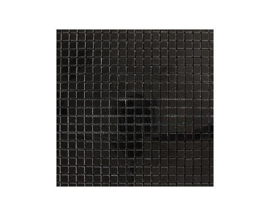 "1.5""x1.5"" Black Absolute Polished Natural Stone Mosaic -"