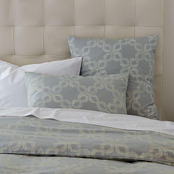 Organic Carved Circles Duvet Cover + Shams modern-bedding
