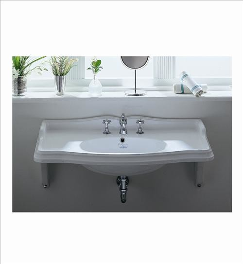 Bath Room Sinks : ... Wall Mount Bathroom Sink - Traditional - Bathroom Sinks - by PoshHaus