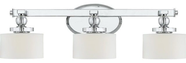 Quoizel DW8603C Downtown Modern/Contemporary Bathroom/Vanity Light contemporary-bathroom-vanity-lighting