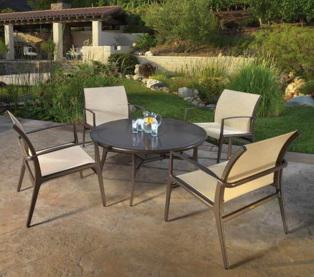 Gensun casual living the phoenix collection modern for Outdoor furniture los angeles