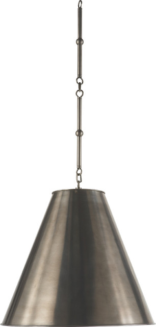 MEDIUM GOODMAN HANGING LAMP eclectic-pendant-lighting