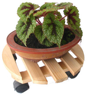 Garden Plant Caddy, Outdoor Plant Dolly outdoor-pots-and-planters