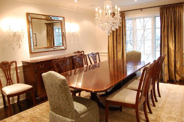 Cori Halpern traditional-dining-room