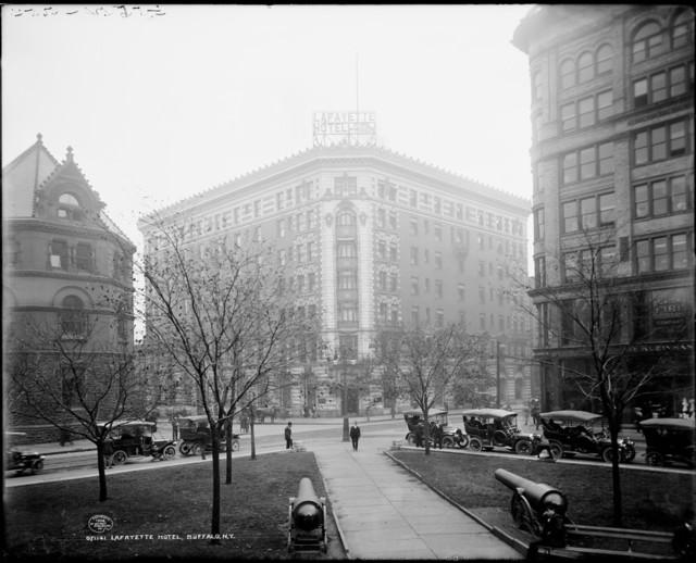 Lafayette Hotel Lafayette Square Buffalo N Y Print