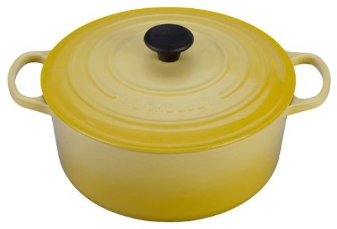 Enameled Cast Iron 7 1/4-Qt. Round Dutch Oven modern-ovens