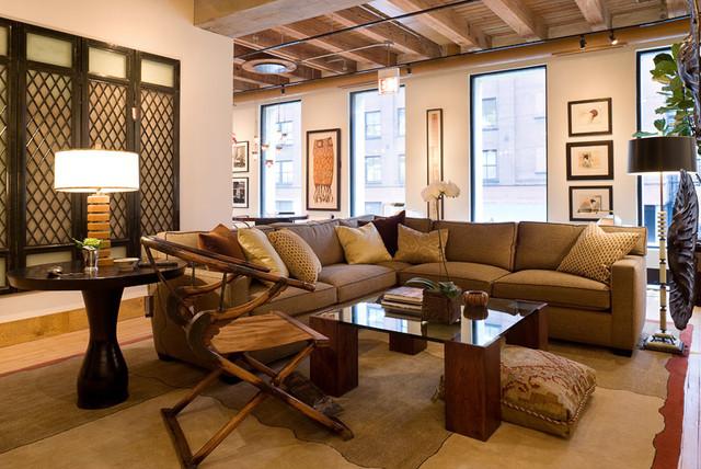 Primitive / Chicago, IL contemporary-living-room