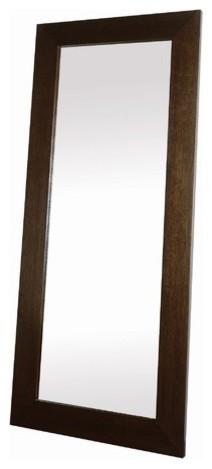 Cadence Leaning Mirror in Espresso modern-home-decor
