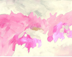 Pink Painting By Davewright Art eclectic artwork