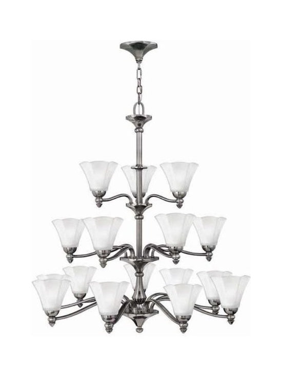Hinkley Lighting 4379PL 18 Light Chandelier Bloom Collection -