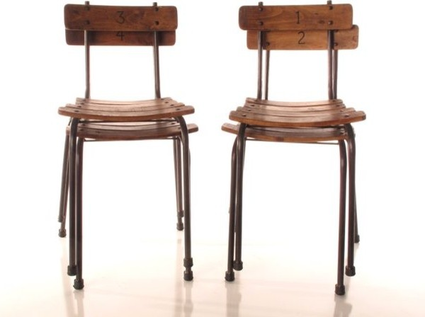 School House Chairs Set Of 4 Eclectic Chairs Toronto By Black Roost
