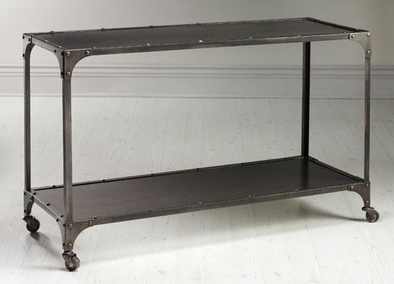 Industrial Louis Console eclectic-coffee-tables