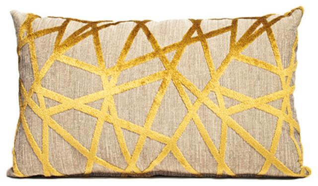 Angles Pillow, 12x20 contemporary-decorative-pillows