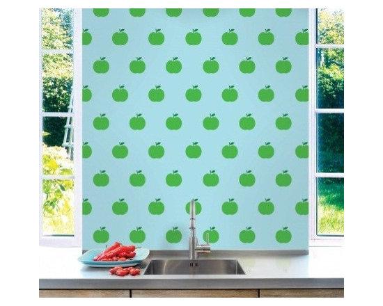 Wallcandy Arts Apple Blue/Green - Wallcandy Arts Apple Blue/Green