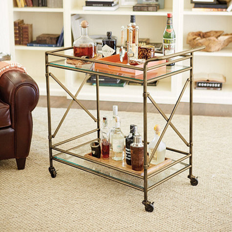 New Products! contemporary-bar-carts