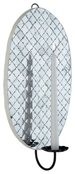 Mirror Mosaic Sconce Wall Sconces By Wisteria