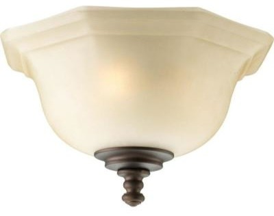 Thomasville Lighting Guildhall Collection 3 Light Roasted Java Ceiling Fan Li