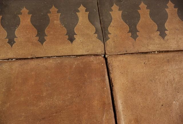 Decorative European Terra Cotta Tile