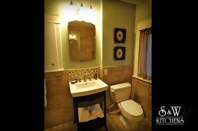 Travertine Bath contemporary-bathroom