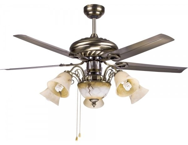 Traditional Large Decorative Ceiling Fan Lighting Fixtures - Traditional - Ceiling Fans - other ...