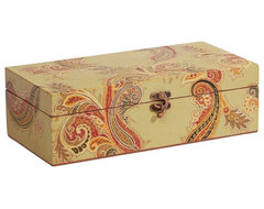 paisley decorative box traditional storage boxes
