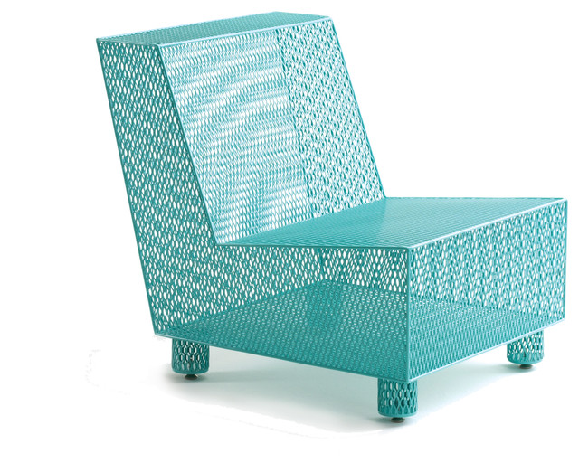 half 13 chair no 35 turquoise contemporary outdoor