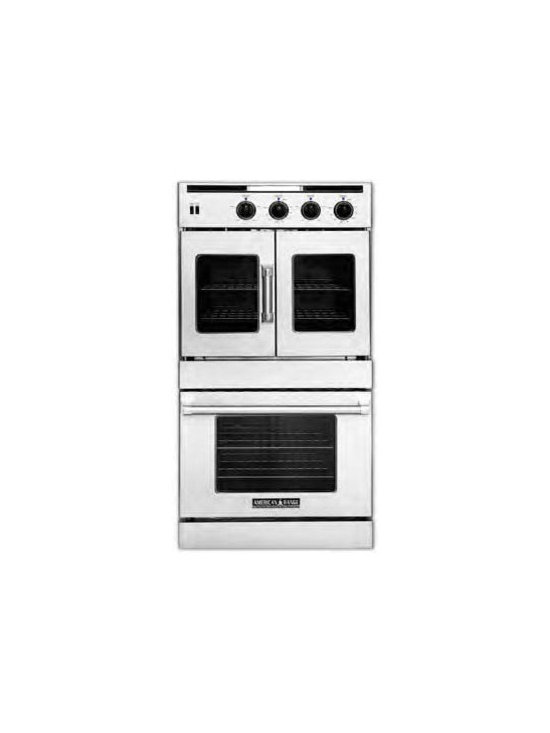 "American Range 30"" Legacy Gas Wall Oven, Stainless Steel 