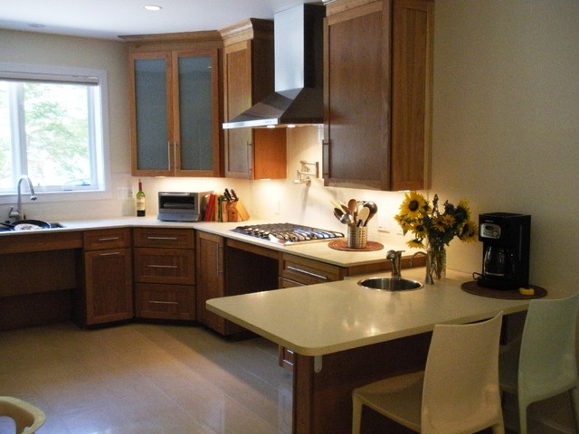 Ada kitchen design san luis wheelchair accessible kitchenuniversal design style wheelchair - Accessible kitchen design ...