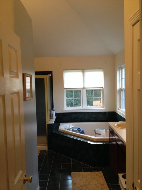 Odd Shaped Master Bath Renovation