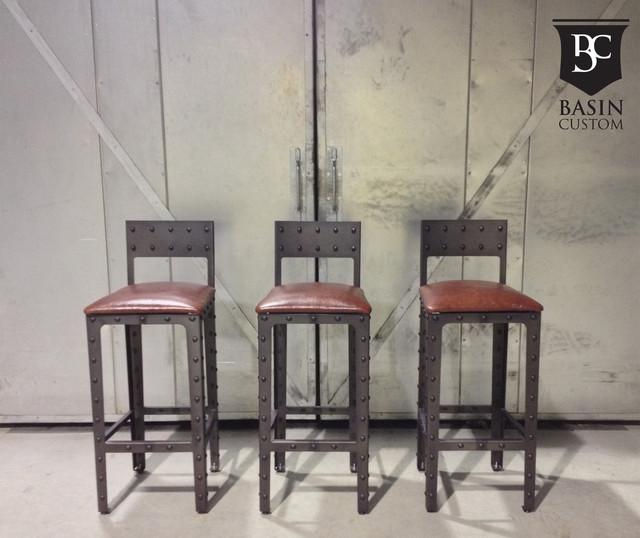 Barstools Industrial Bar Stools And Counter Stools