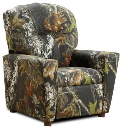 Mossy Oak Camouflage Children's Recliner modern-task-chairs