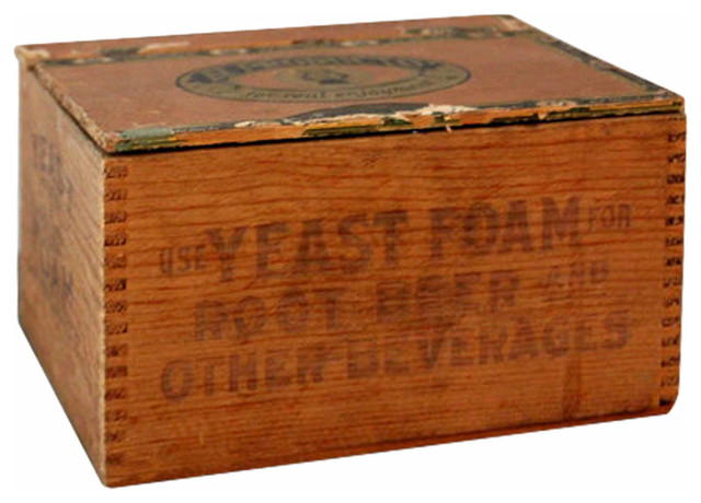 Lidded Wooden Crate - Traditional - Storage Bins And Boxes - new york - by Second Shout Out