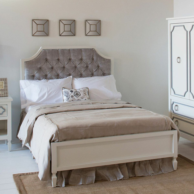 Beverly Tufted Bed modern-kids-beds