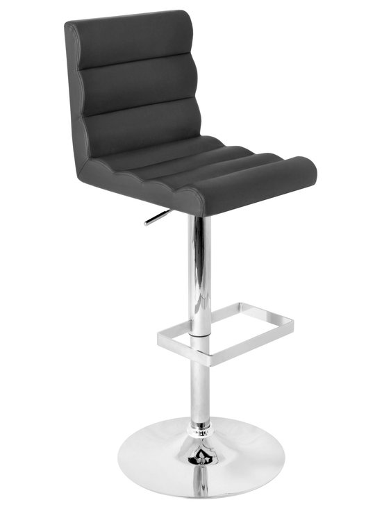 Auto Bar Stool - BLACK