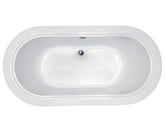 Calla Soaking Bath - Traditional styling