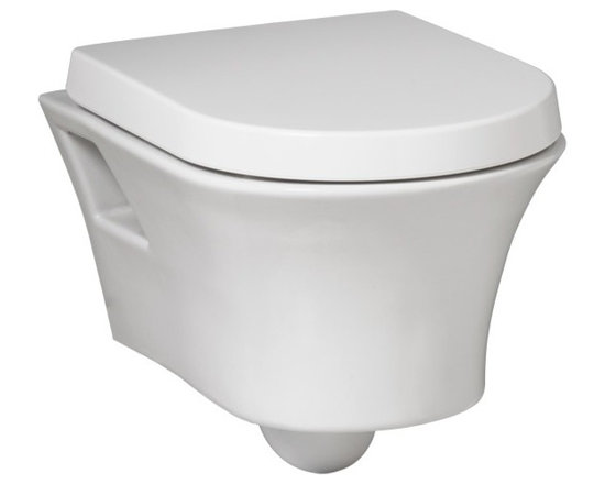 Porcher Solutions Wall-Mounted Dual Flush Toilet - 1.6-0.8 GPF (6.0-3.0 Lpf)