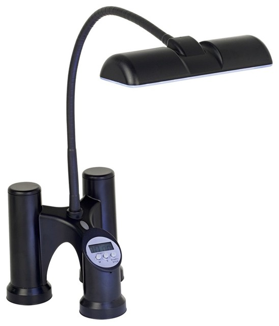 battery powered gooseneck led bbq light modern outdoor lighting by lamps plus. Black Bedroom Furniture Sets. Home Design Ideas