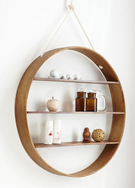 Circle Shelf contemporary-wall-shelves