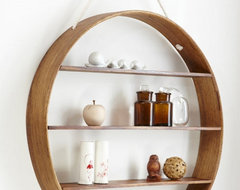 Circle Shelf contemporary-display-and-wall-shelves
