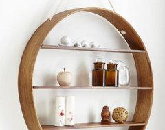 Circle Shelf contemporary-wall-shelves