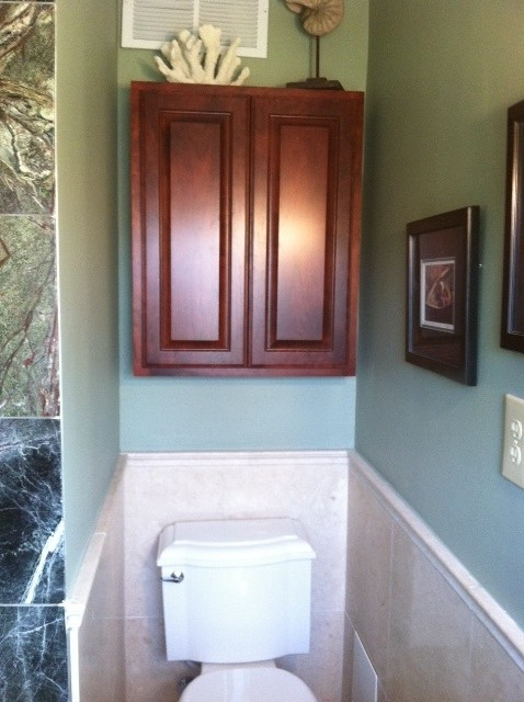 Masculine Small Bathroom Traditional Bathroom Orange County By