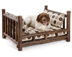 Rustic Dog Bed #5126 by La Lune Collection rustic-dog-beds