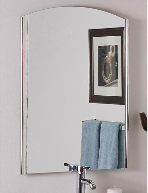 Frameless Vista Wall Mirror contemporary-mirrors