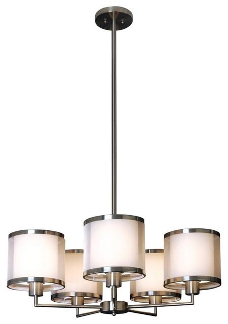 Trend Lighting Lux Chandelier BP8945 - 29W in. modern-chandeliers